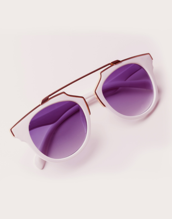 Marble-Effect Sunglasses